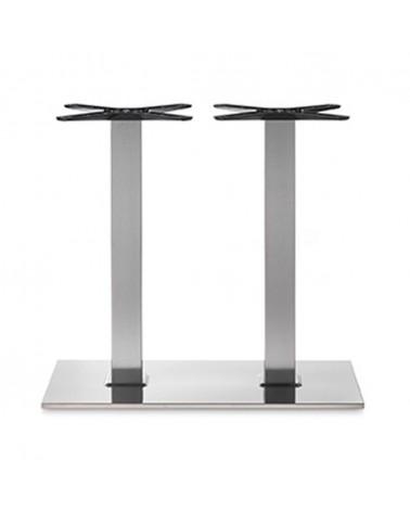 Inox, Rozsdamentes acél asztallábak, asztalbázisok PE 405Q Baza de masa