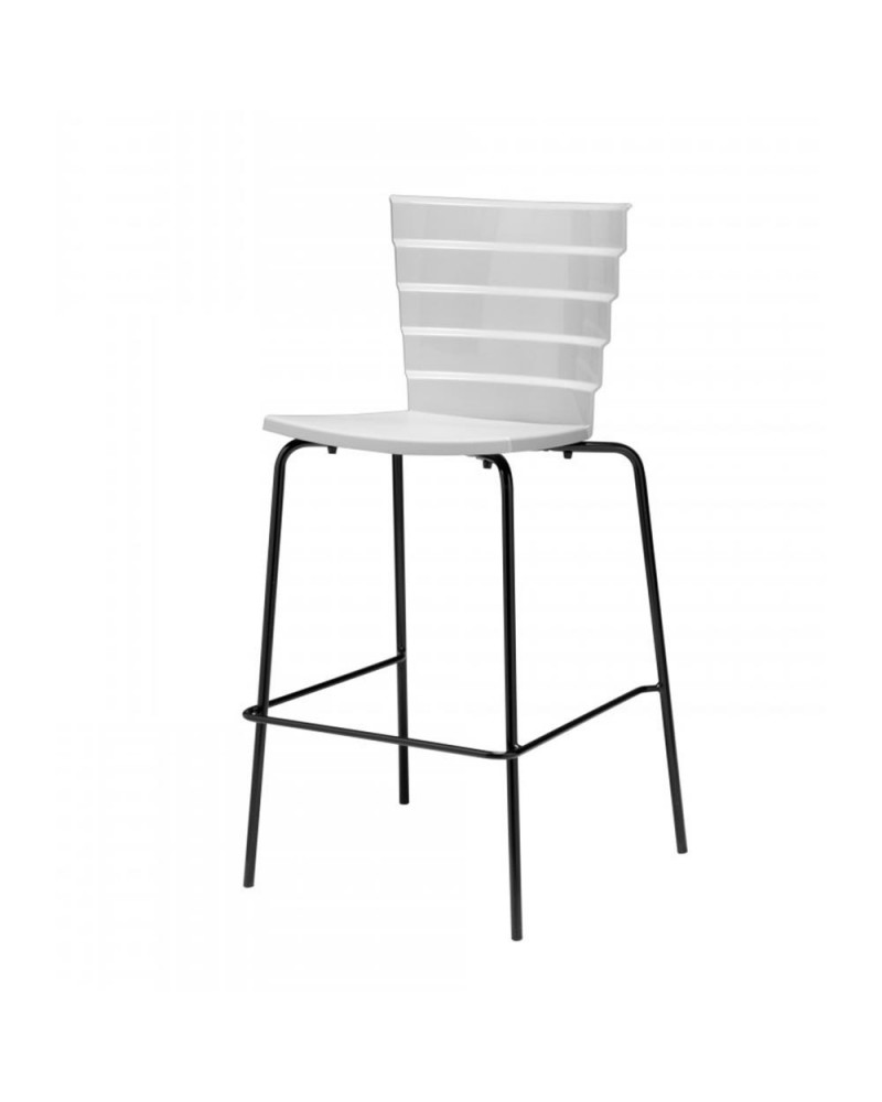 Scaun de bar din plastic MO Bikini scaun bar din plastic
