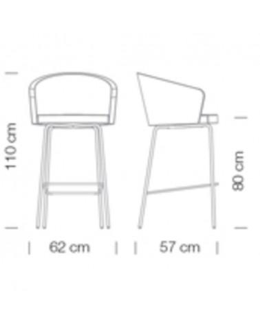 FO Gummy RE scaun de birou rotativ