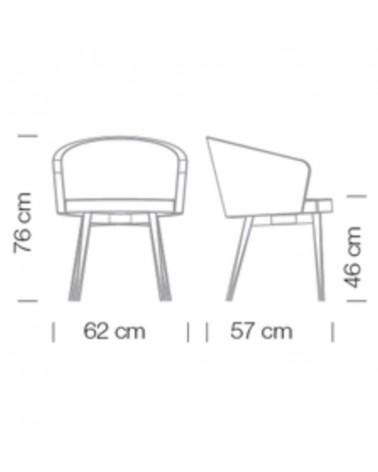 FO LaMia A scaun de birou rotativ