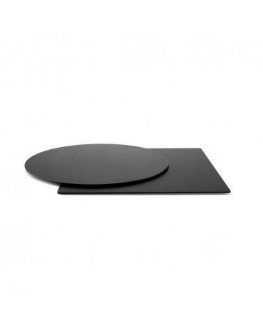 HPL / Compact kültéri asztallapok PF HPL negru blat de masa