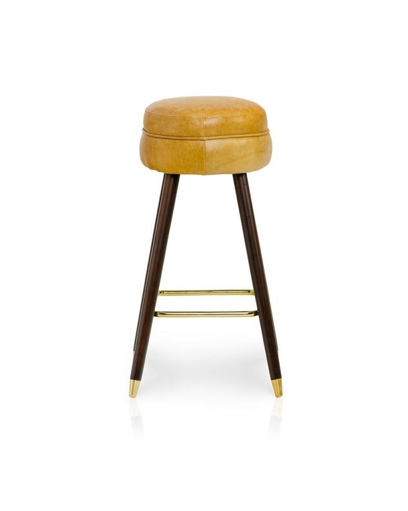 Scaun de bar tapitat HO Paul 75 cm scaun de bar tapitat
