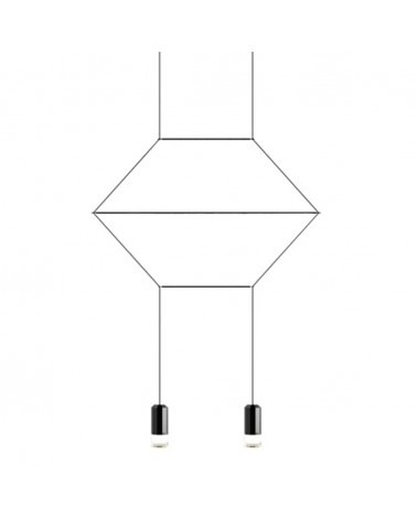 Pendule si lustre KH Freda 2 lampa suspendata de design