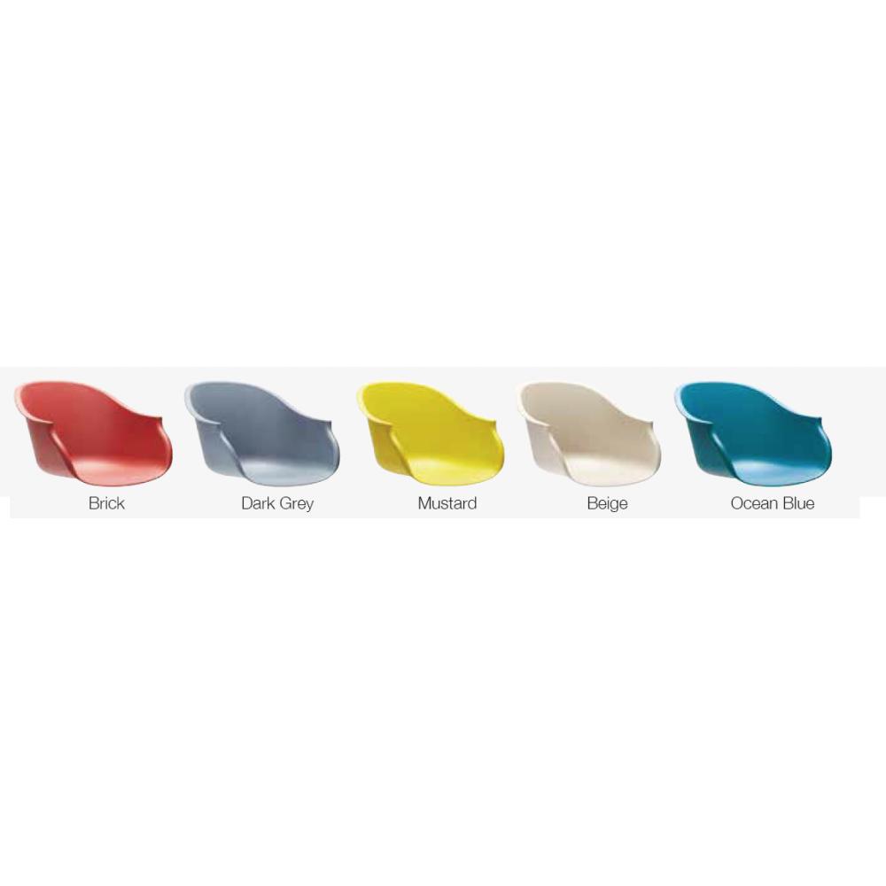 LX Orvi scaun Lounge, cu tapiterie la alegere