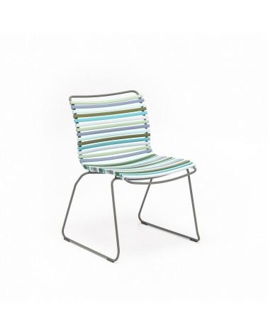 Scaune din metal si aluminiu HE Click II. scaun terasa pe diverse culori