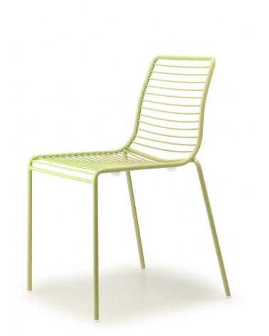 SC Summer kényelmes, erős kültéri fém szék többféle színben
