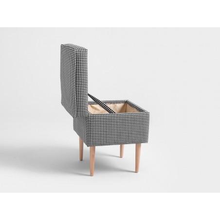 Fotolii, canapele, lounge RM Edi I. Taburet tapitat de calitate