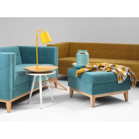 Fotolii, canapele, lounge RM By-Tom I. Taburet tapitat de calitate