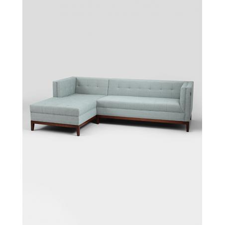 Fotolii, canapele, lounge RM By-Tom canapea de colt, forma L, tapiteria la alegere