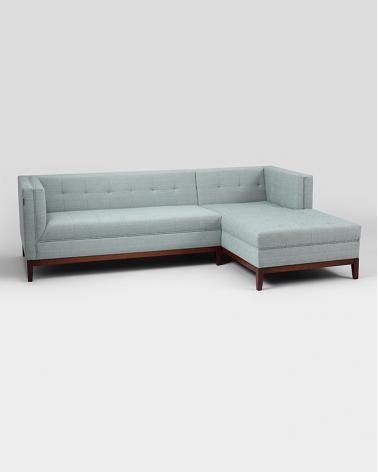Fotolii, canapele, lounge RM By-Tom canapea de colt, forma P