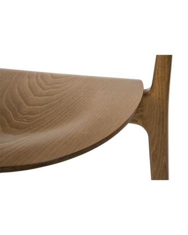 Scaun de bar din lemn PG EVO II. Scaun de bar din lemn cu brat de calitate
