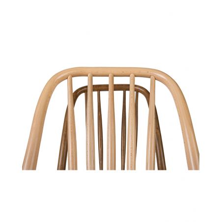 Scaun de bar din lemn PA Aldo H-1070 78 cm Scaun de bar din lemn