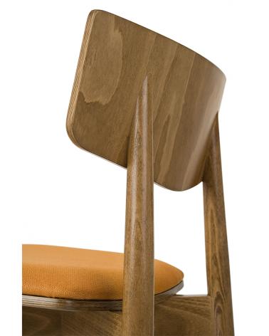 Scaun de bar din lemn PG Uvu III. Scaun de bar din lemn