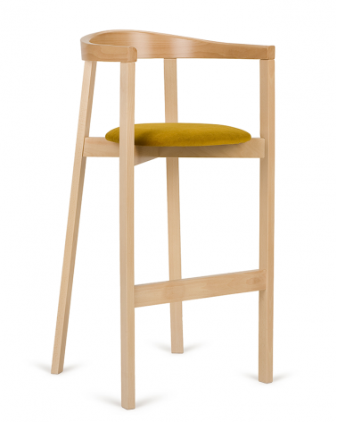Scaun de bar din lemn PG UXI Scaun de bar din lemn de calitate