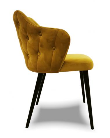 OL Andor scaun tapitat cu nasturi