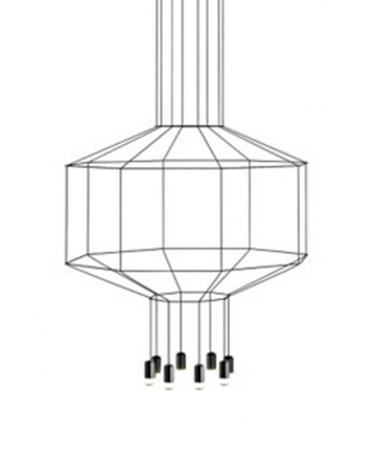 Pendule si lustre KH Freda 8 lampa suspendata de design