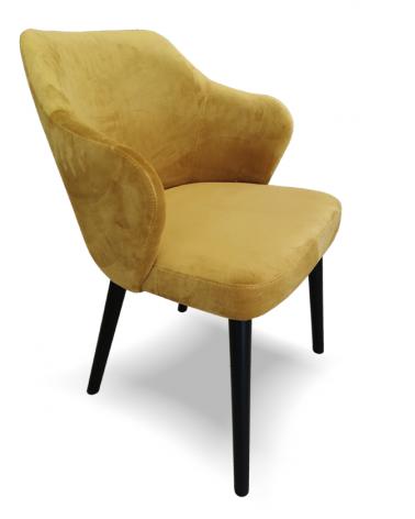 OL Andor II. scaun tapitat cu nasturi