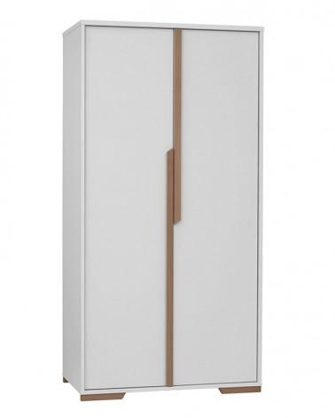 Acasa PI Snap dulap pentru copii cu 2 usi, alb