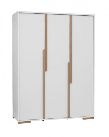 Acasa PI Snap dulap pentru copii cu 3 usi, alb