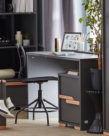 Acasa PI Snap masa de birou pe culoarea antracit