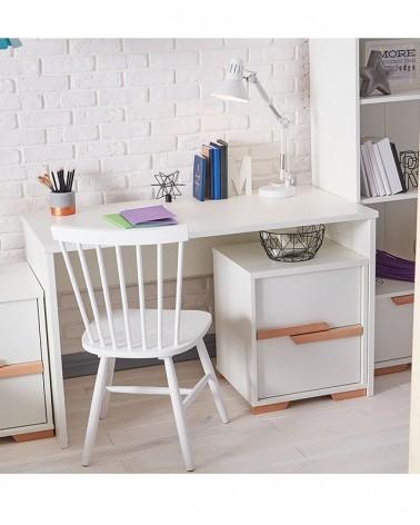 Acasa PI Snap masa de birou pe culoarea alba