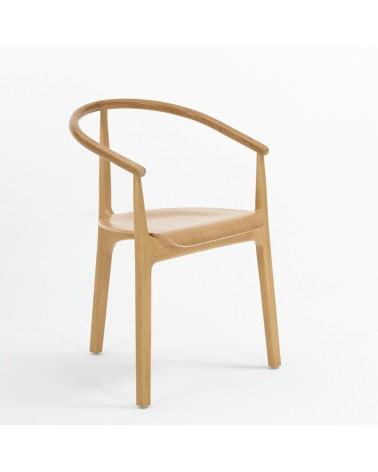 PG EVO I Scaun din lemn cu brat tapitat de calitate