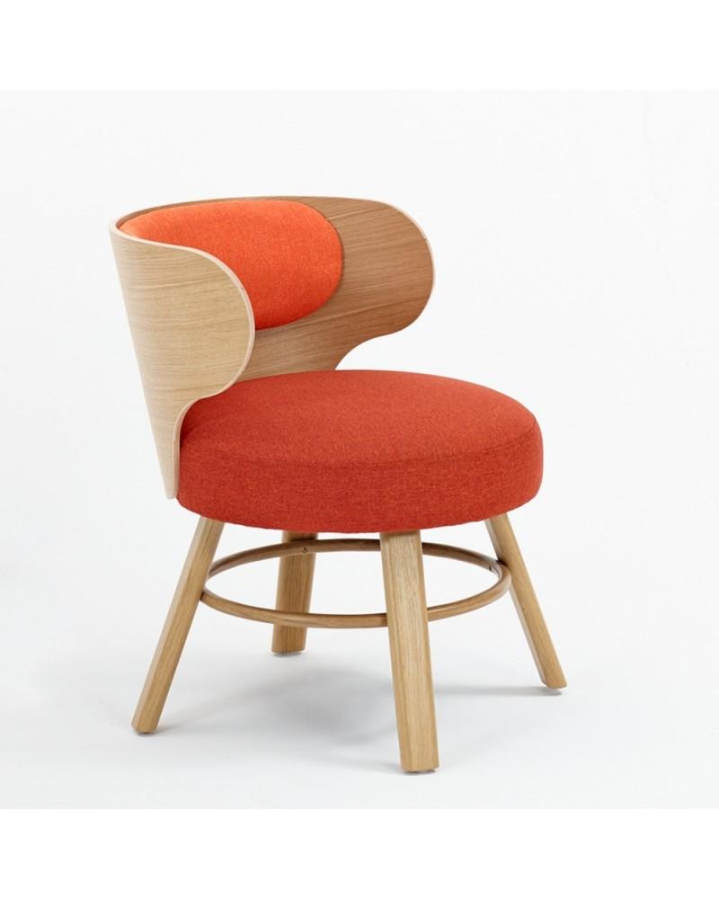 EG K2 Scaun din lemn tapitat de calitate