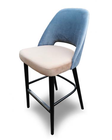 Scaun de bar tapitat OL Sun scaun de bar tapitat