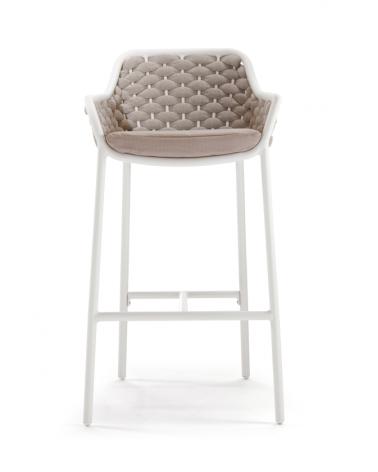 Acasa NI Panama scaun de bar confortabil în bej