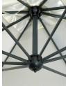 CO Poker double umbrela de soare gigant