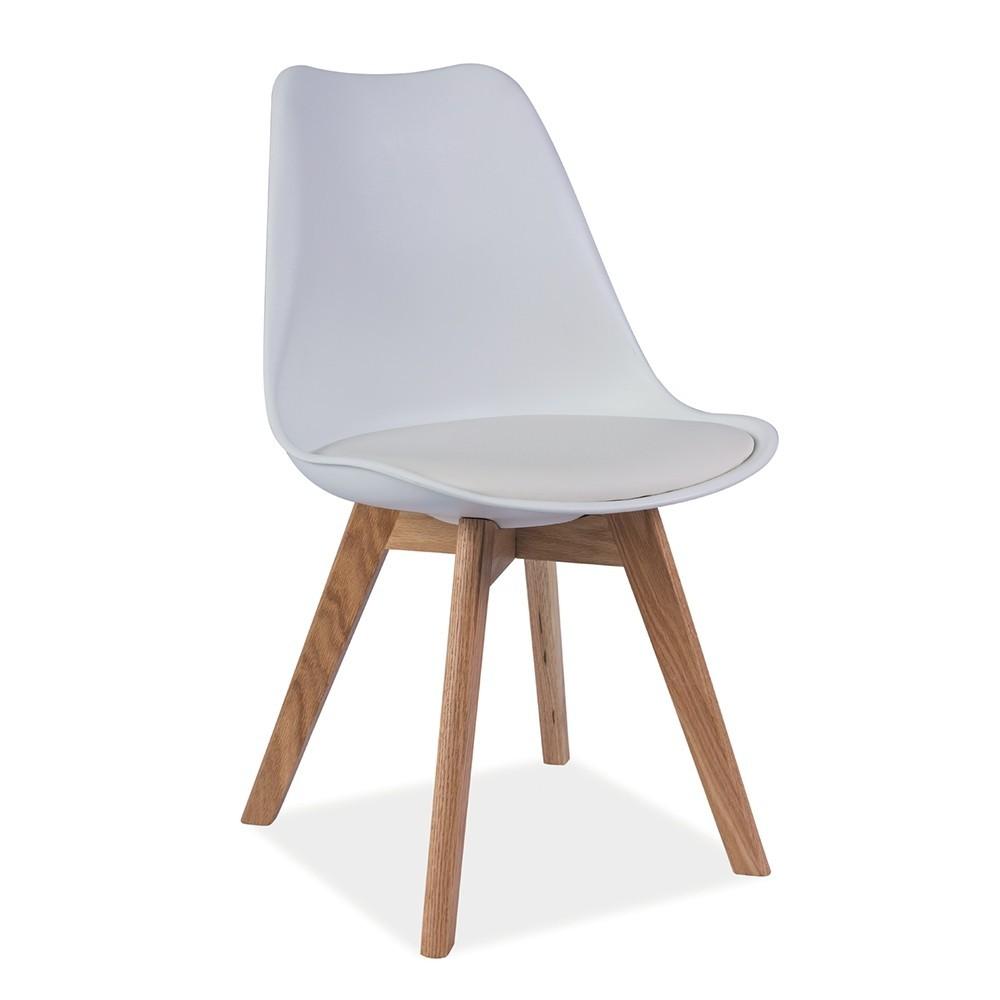 LA Jasmin scaun alb
