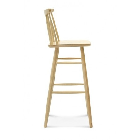 Scaun de bar din lemn EG BST-1102_1 75 cm Scaun de bar din lemn
