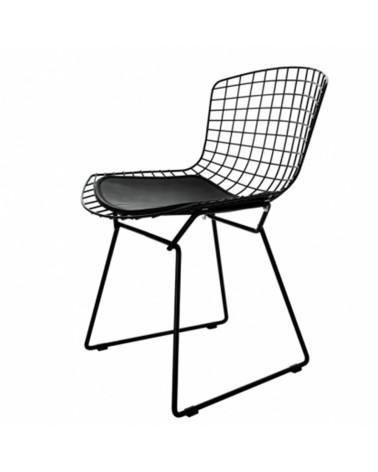 KH Diamnet scaun cu schelet metalizat de culoare neagra