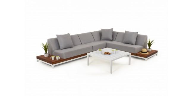 Seturi de exterior, mobilier Lounge NI Ivory Set de terasa