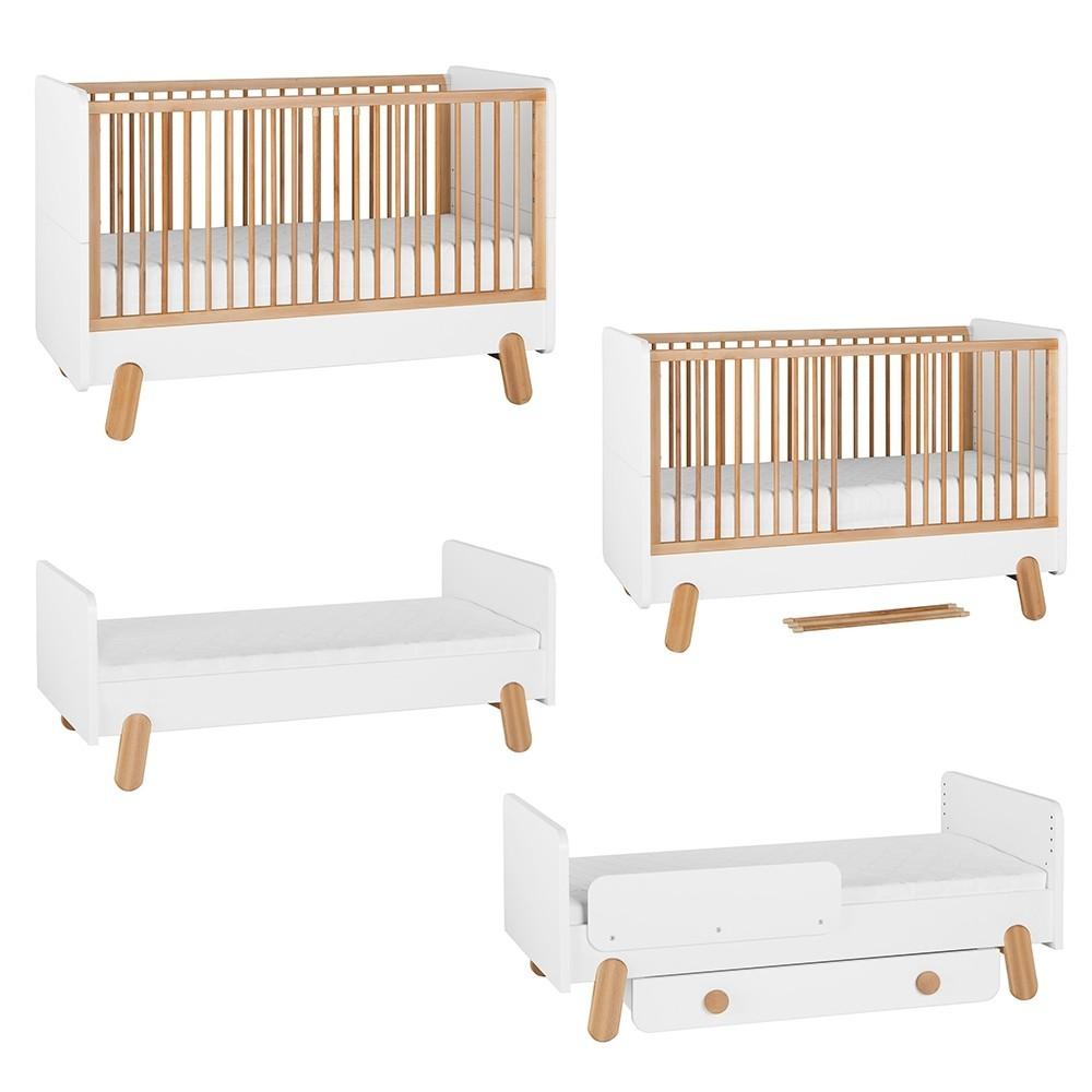 PI Iga patut transformabil 140 x 70 cm, mobilier pentru copii