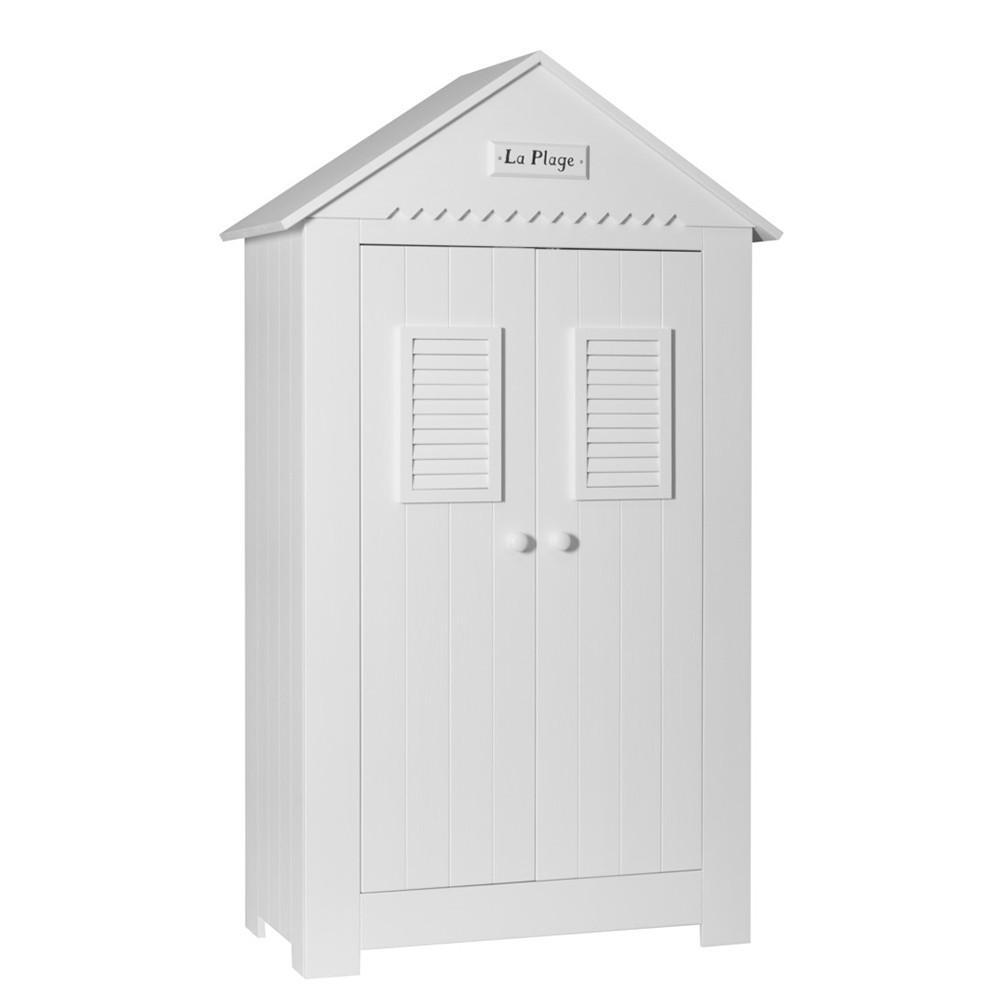 PI Marsylia dulap cu 2 usi pentru copii, pe culoarea alb si vanilie