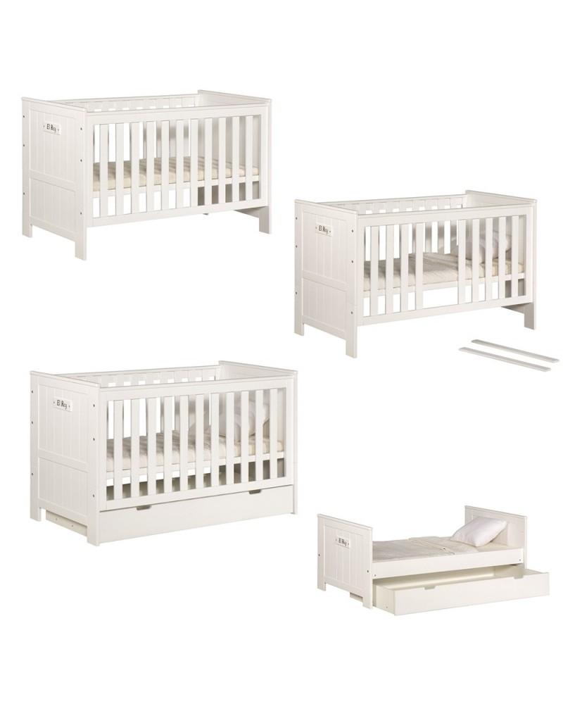 PI Blanco 140 x 70 cm pat pentru copii transformabil