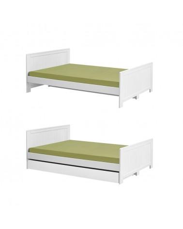 Mobilier pentru copii PI Blanco 200 x 120 cm sau 200 x 140 cm pat pentru copii