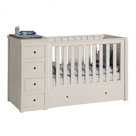 Mobilier pentru copii PI Paso 120 x 60 cm patut bebe