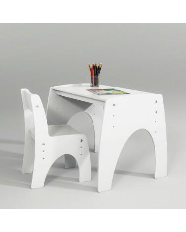 Mobilier pentru copii PI Klips masuta pentru copii cu inaltime reglabila