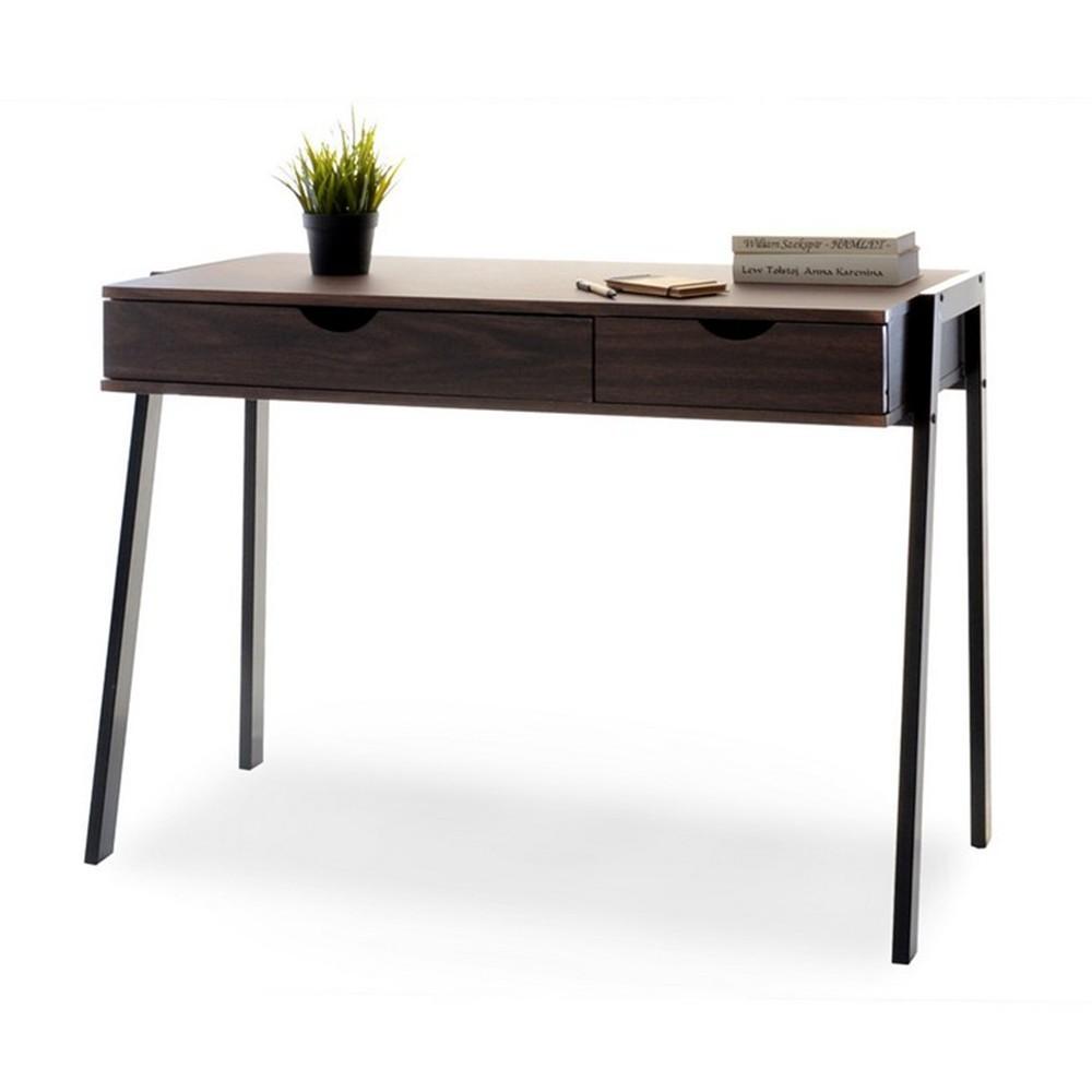 MB Lund masa de birou pe culoarea nuc