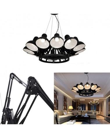 Pendule si lustre KH Replika Spider lampa suspendata de design cu 12 directii