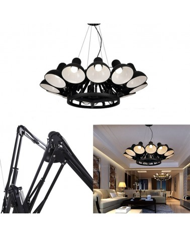KH Replika Spider lampa suspendata de design cu 12 directii