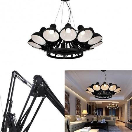 KH Replika Spider lampa suspendata de design cu 12 directii