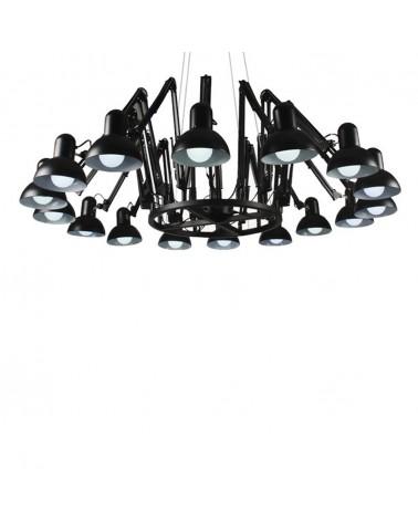Pendule si lustre KH Replika Spider lampa suspendata de design cu 16 directii