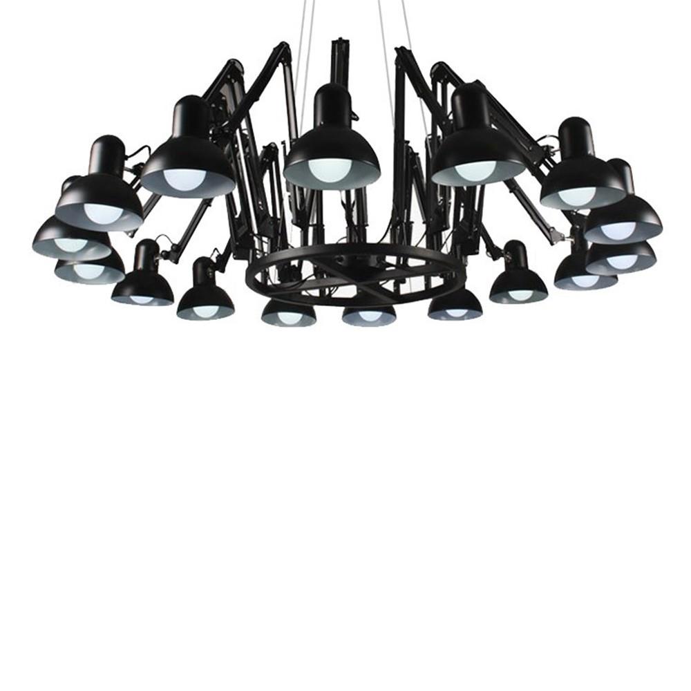 KH Replika Spider lampa suspendata de design cu 16 directii