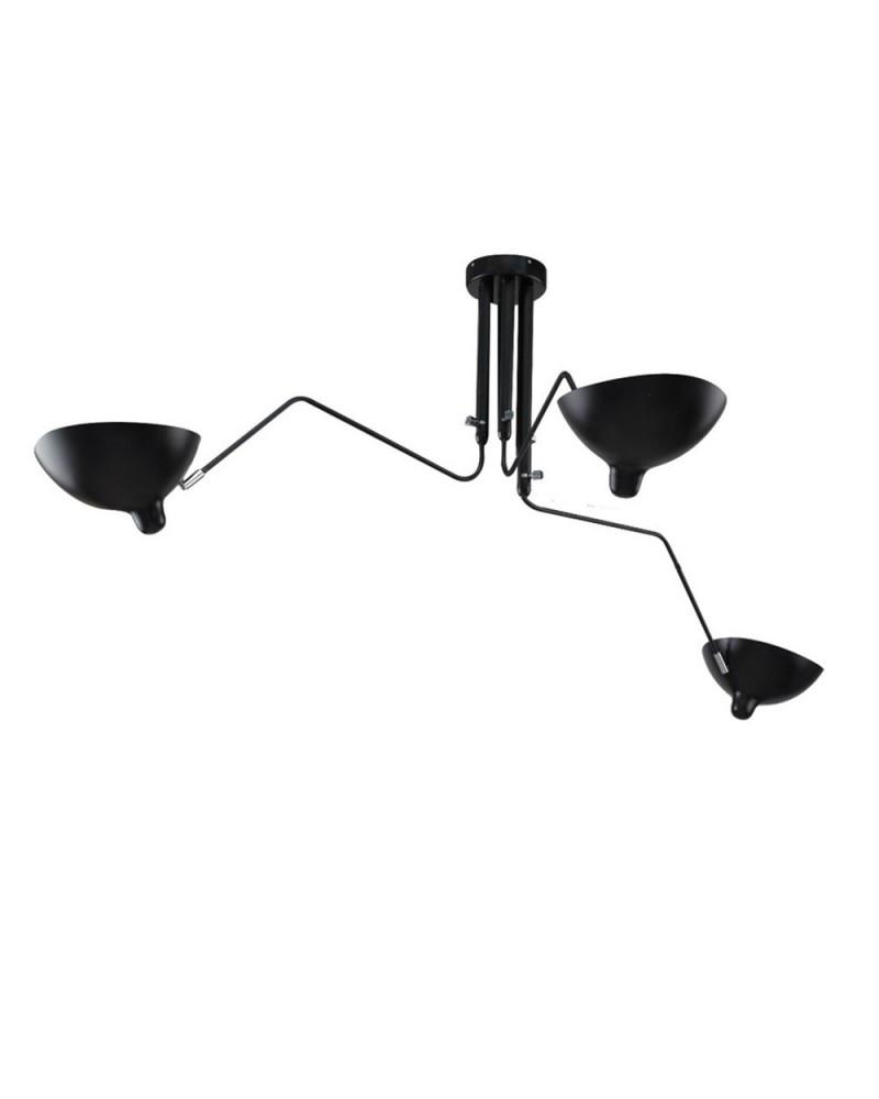 Pendule si lustre KH Replika Raven lampa suspendata de design cu 3 directii