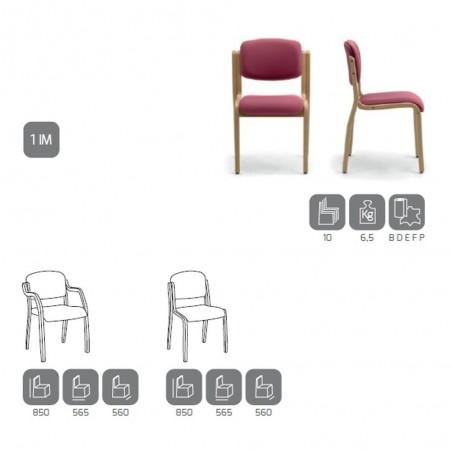 Scaune de asteptare FO Kalos scaun vizitator de calitate
