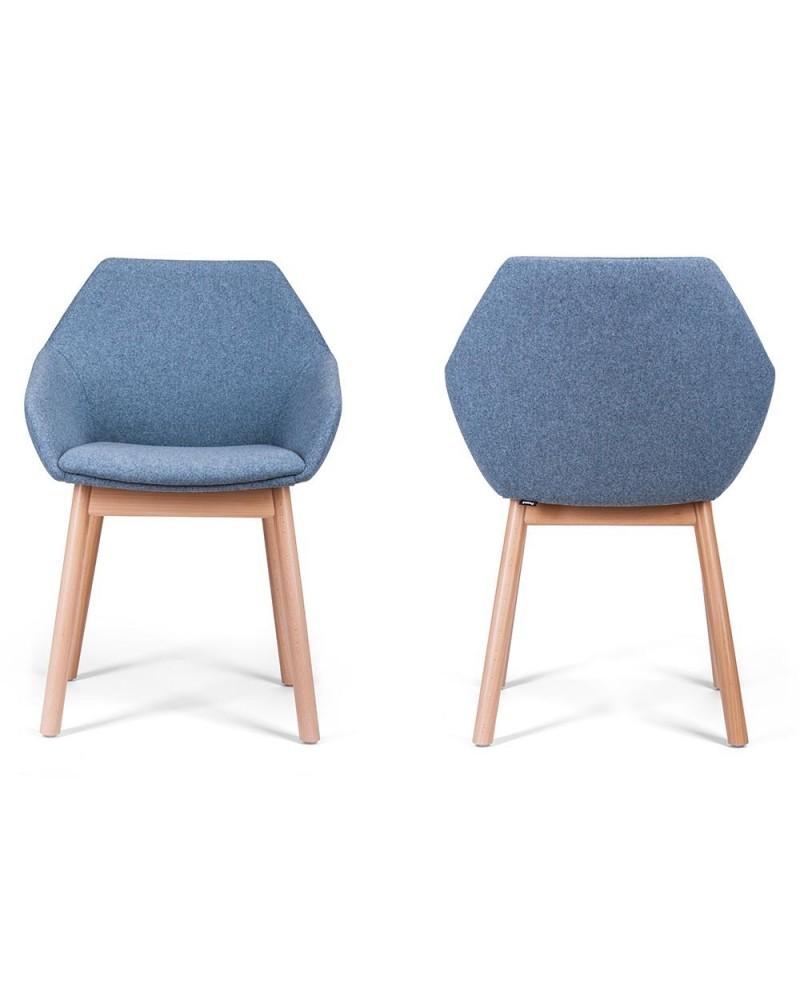 LT Bry minőségi kárpitozott szék