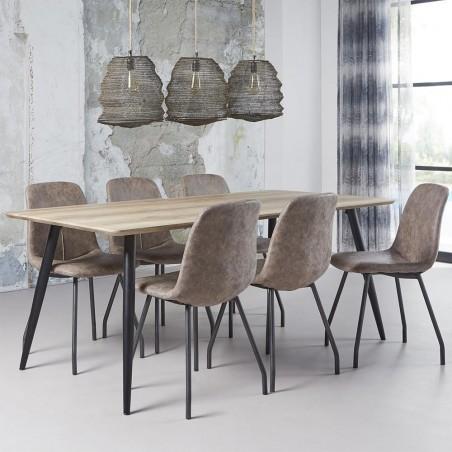 Fix asztalok LT Charle Masa pentru sufragerie 160
